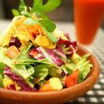 数寄屋バーグ - ヘルシーセット 5色の彩りサラダ