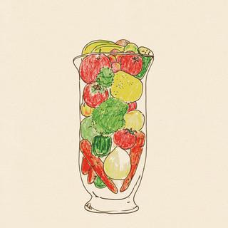 健康な身体づくりに貢献!毎月変わる『手作り野菜ジュース』