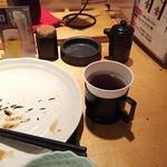 魚可祝 - ランチ食後のコーヒー
