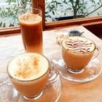 natural cafe こひきや - ドリンク写真:ラテ系も充実!
