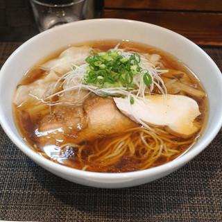 麺や金時 - 料理写真:醤油ワンタン麺