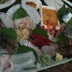 魚屋はちまき - 快鮮刺し盛り