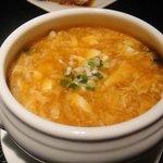 上海饅頭店 - 酸辣スープ