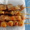 串焼き ゝ神 - 料理写真:豚バラ・かわ・もも・ぼんじり