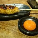 toridan - つくねタレ(卵黄付き)