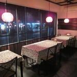 ハイサイカフェ&BAR - 店内は落ち着いた雰囲気でゆっくりお過ごしいただけます。
