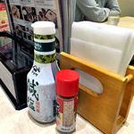 和ぐるめ - 卓上に常備された調味料類(2016年6月)