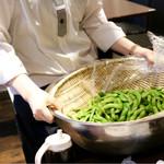 バリ ビア ガーデン - 枝豆つかみどり