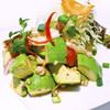海老とアボガドのサラダ:ヤム・クン・アボガド