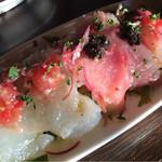 下北沢BARU - 鮮魚カルパッチョの4種の盛り合わせ
