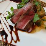 レストラン ピウ - 熊本阿蘇あか牛のロースト