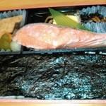 51935147 - ★鮭と海苔弁当