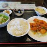 51935774 - エビチリ定食 780円 (税込)