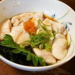 大安 - 鯛の白子ポン酢