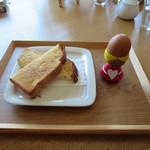 Puranku - バタートーストセット 500円