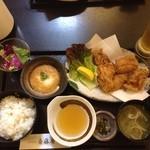 博多美味 斎藤屋 - ランチの定食。美味しかったです。