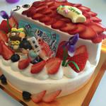 パティスリー べべ - 料理写真:子どもの日ケーキ 21cm(¥4860)