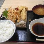 もとや - 天ぷら定食430円