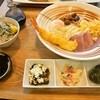 Konamizushio - 料理写真:スペシャルぶっかけうどん&お得セットA