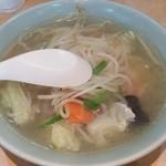 三平食堂 - タンメン 600円
