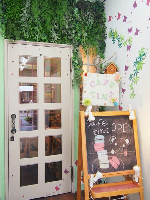 カフェティント - 入り口