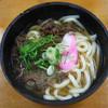 七ふくうどん - 料理写真:肉うどん 2016.5