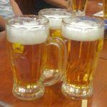 Biyaresutoranginzaraion - ジョッキのビール