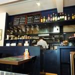 ブリティッシュ インディアン カフェ1930 - バー的な雰囲気も