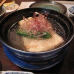 和洋割烹 竹泉 - 揚げ出し豆腐