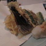 和洋割烹 竹泉 - 野菜の天ぷら