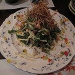和洋割烹 竹泉 - 水菜のサラダ