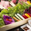 yakinikuyonsansan - 料理写真:お野菜たっぷりサンチュ