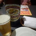 味楽 - ドリンク写真:瓶ビール大瓶
