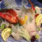 魚菜おもてなし 北河 - アカハタ 活造り