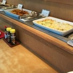 ビュッフェレストラン ラフォーレ - オニオンフライ、グラタン等