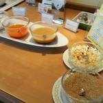 ビュッフェレストラン ラフォーレ - サラダバーのドレッシング