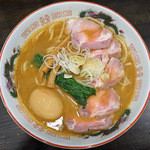 製麺処 蔵木 - 特製濃厚魚介とんこつらーめん+チャーシュー増量