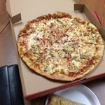 Sbarro Italian Eatery - 一切れの切れ目が大きい