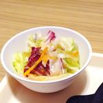 いきなりステーキ - ランチのサラダ