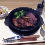 いきなりステーキ - ワイルドステーキ300gライス抜き
