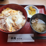 卵庵 はしたま - 親子丼(税抜500円)