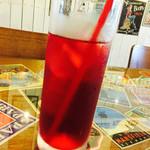 Cafe Contigo - クランベリージュース