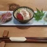51960999 - 前菜 太刀魚の南蛮漬けがうまし!