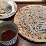 51961006 - くくりランチ 10割りそば ホタテ天ぷらへ 変更