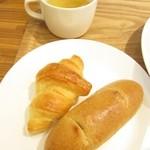 ボヌール・ヴェール - パン・クロワッサン・スープ