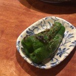 鶏太 - ピーマン丸焼き