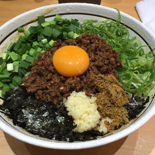 濃厚担々麺はなび 錦店 - 台湾まぜそば