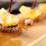 B.B.Q rave kitchen Mediterraneo casa Tsudanuma - タコとジャガイモのピンチョス