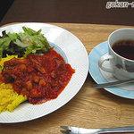 Terassa - ポークのトマト煮こみランチ