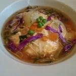 国亭 - 料理写真:雑穀米の和風オムライス